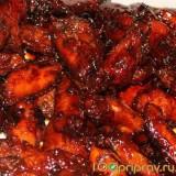 Ароматные крылышки в цитрусовом маринаде