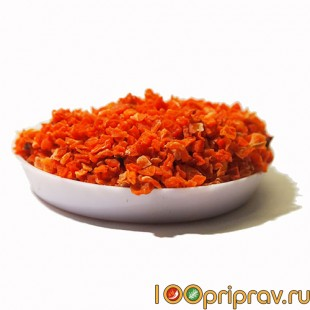 Морковь кусочки 1-3 мм