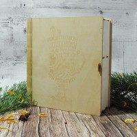 Набор для глинтвейна в форме книжки