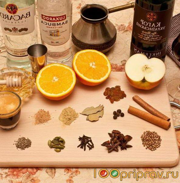 Специи для приготовления глинтвейна своими руками